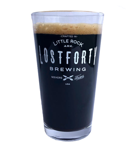 Lost Forty Pint Glass