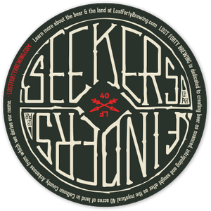 "4""x4"" Seekers Finders Sticker"