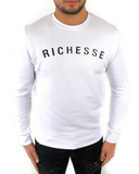 Sweater Richesse Logo Wit