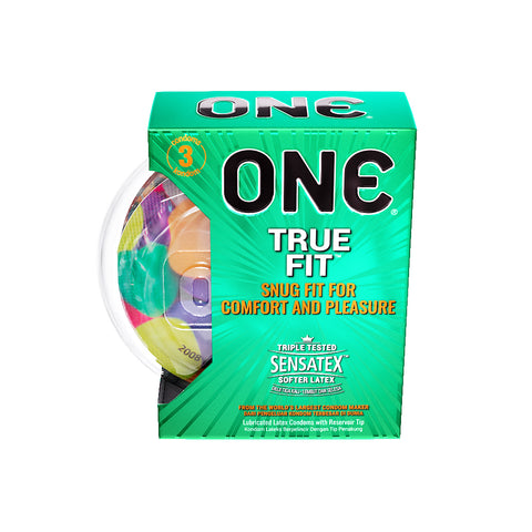 ONE®️ Kondom True Fit  - 3 Pcs