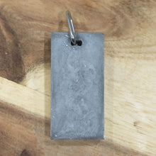 SoFlow Copper Coil/Orgonite Pendant- double sided minimalist range / cement look/black