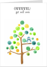 Owwwwl ! Get Well Soon Card
