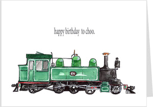 Happy Birthday To Choo.  Locomotive 6A
