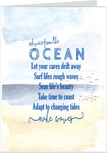 Advice From The Ocean Card