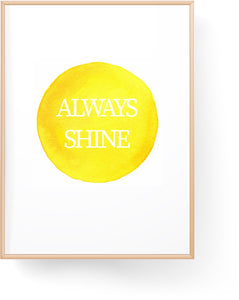 Always Shine Digital Download