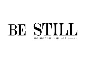 Be Still And Know Digital Download