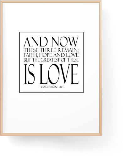Faith Hope Love Digital Download