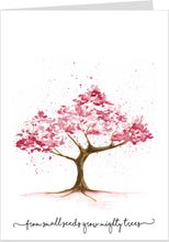 From Small Seeds Cherry Blossom Card