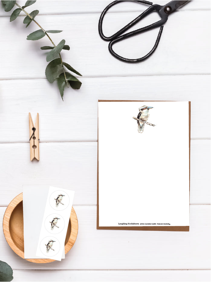 Kookaburra Letter Writing Set