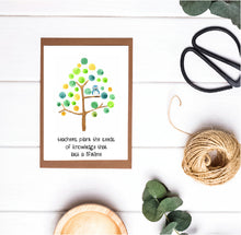 Teacher Appreciation / Teacher Christmas Print - Teachers Plant Seeds of Knowledge That Last a Lifetime