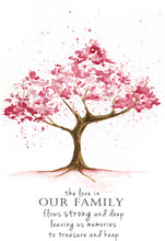 The Love In Our Family Cherry Blossom
