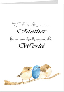 To Your Family You Are Our World