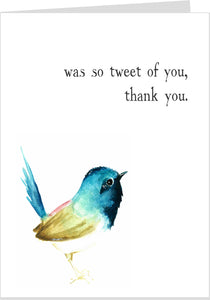 Was So Tweet Of You Thank-You