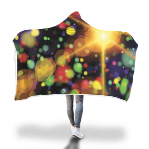 Colourful Spots Hooded Blanket - 2 sizes - My Diva Baby