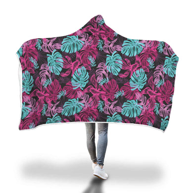 Leaves Hooded Blanket - 2 sizes - My Diva Baby