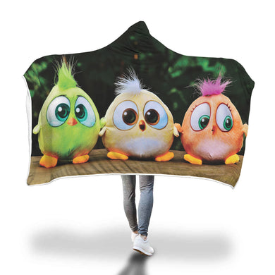 Plush Birds Hooded Blanket - 2 size - My Diva Baby
