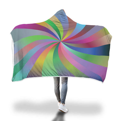 Spiral Hooded Blanket - 2 sizes - My Diva Baby