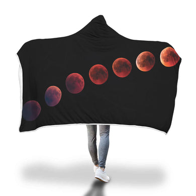 Blood Moon Hooded Blanket - 2 sizes - My Diva Baby