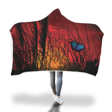 Dusk Butterfly Hooded Blanket - 2 sizes - My Diva Baby