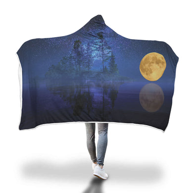 Full Moon Hooded Blanket - 2 sizes - My Diva Baby