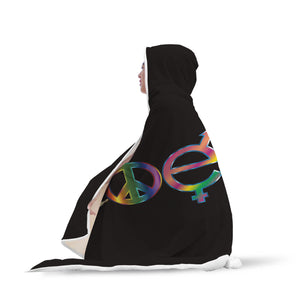 Coexist Hooded Blanket - 2 sizes - My Diva Baby
