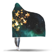 Galaxy Heart Hooded Blanket - 2 sizes - My Diva Baby