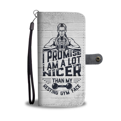 Resting Gym Face - Phone Wallet
