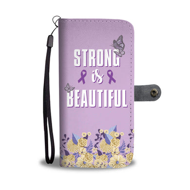Strong Is Beautiful - Phone Wallet - My Diva Baby