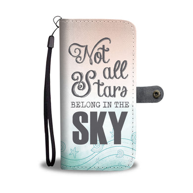 Not all Stars - Phone Wallet - My Diva Baby