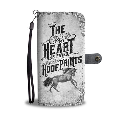 The Path To My Heart - Phone Wallet