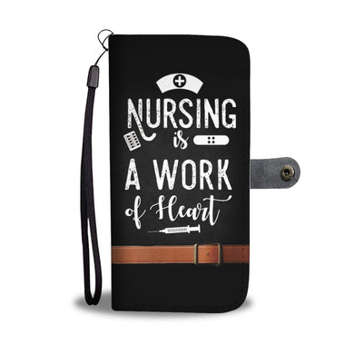Nursing Is A Work Of Heart - Black - Phone - My Diva Baby
