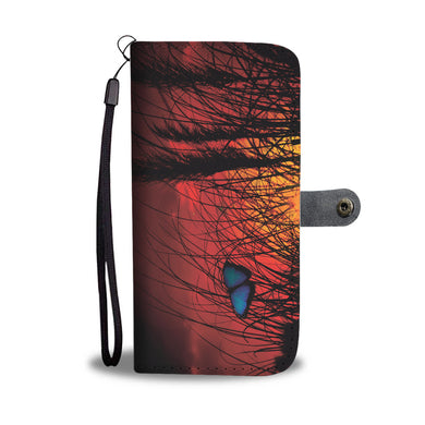 Dusk Butterfly - Phone Wallet - My Diva Baby