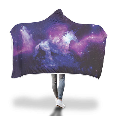 Magical Unicorn Hooded Blanket - 2 sizes
