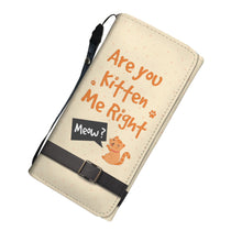 Are You Kitten Me - Women's Wallet