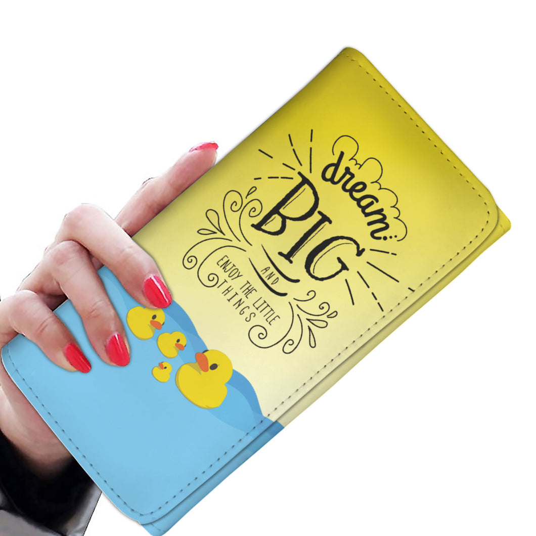 Dream Big - Women's Wallet