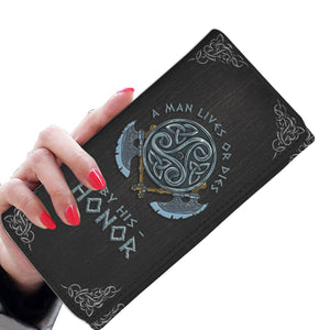 A Man Lives Or Dies - Women's Wallet