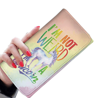 I'm Not Weird I'm A Unicorn - Women's Wallet