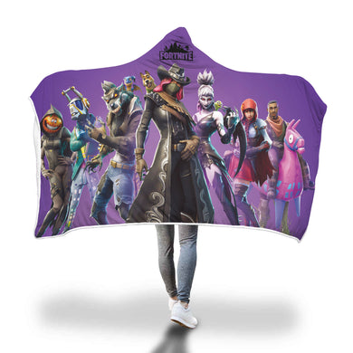 Hooded Blanket - Season 6 Battle Pass - 2 sizes