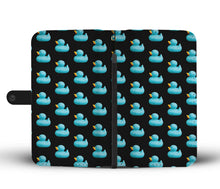 Blue Rubber Ducky - Phone Wallet