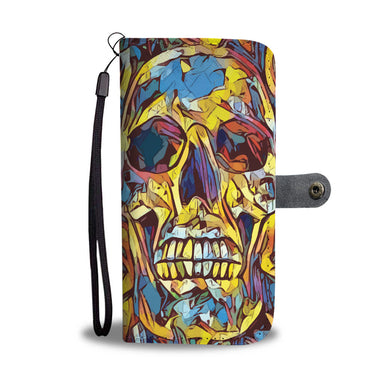 Shattered Skull - Phone Wallet