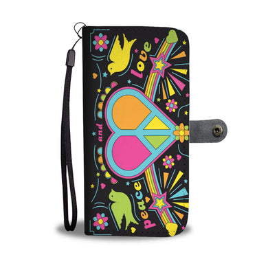 Peace & Love - Phone Wallet