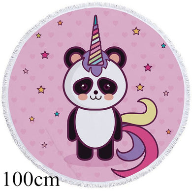 Uni-Panda Round Beach Towel - 2 sizes