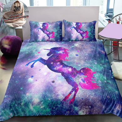 Cosmic Unicorn Doona Cover 2/3pc set