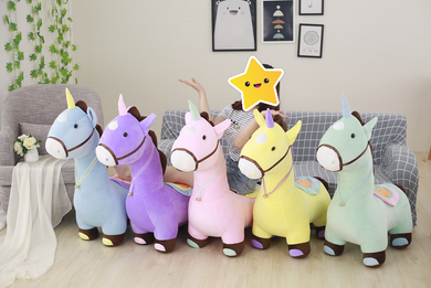 Soft Unicorn Plush Child's Seat - 5 Colours available - My Diva Baby