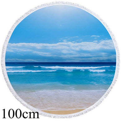 Beach Round Beach Towel - 2 sizes