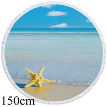 Beach Starfish Round Beach Towel - 2 sizes