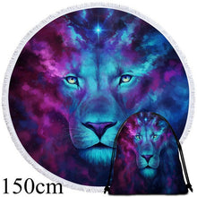 Firstborn by JoJoesArt Round Beach Towel - 2 sizes