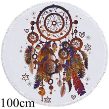 Bohemian Dreamcatcher Round Beach Towel - 2 sizes