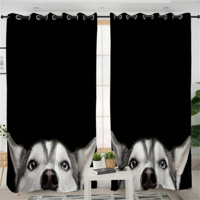 Husky 3D Curtains