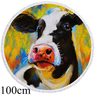 Dairy Queen Round Beach Towel - 2 sizes